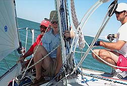 Foredeck training Vee Jay 40569