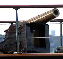 Cannon on Cangarda in Newport 2012 -- Photo by Cap'n Vic