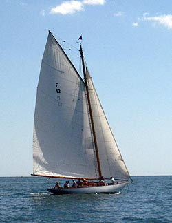 Herreshoff P #13 Newport 2011 -- photo by Cap'n Vic
