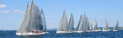 Melges 32 Start 7-30-2011 from Vee Jay